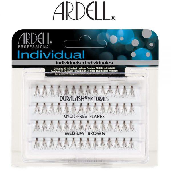 b2d2a952965 Ardell DuraLash Individual Lashes Knot-Free Flare Medium Brown ...